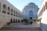 Security at the Australian War Memorial is under review after the deadly Ottawa shooting.