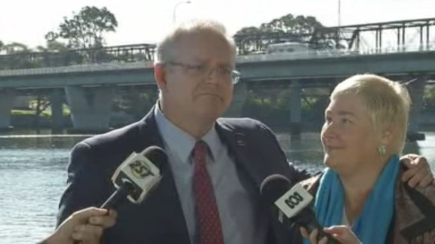 """Scott Morrison spruiked Ann Sudmalis to preselectors as """"the right candidate for Gilmore""""."""