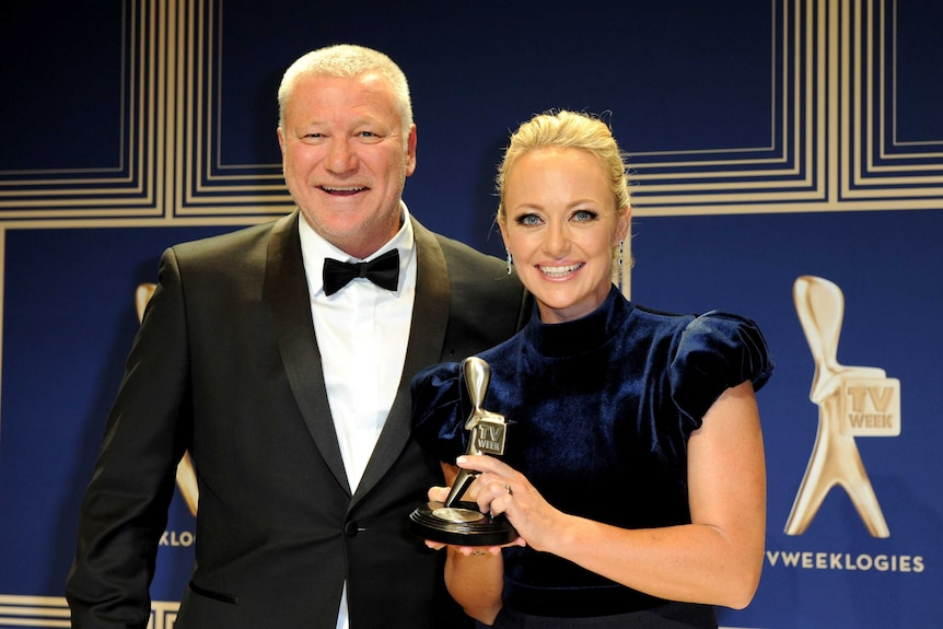Scott Cam and Shelley Craft of the Nine Network's The Block won the Silver Logie for Best Reality program.