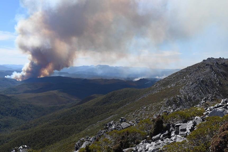 Gell River fire