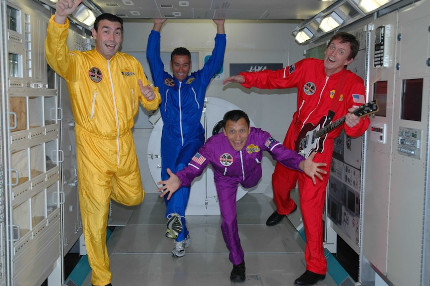 The original Wiggles band