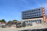The Cooper & Oxley worksite at Hollywood Hospital