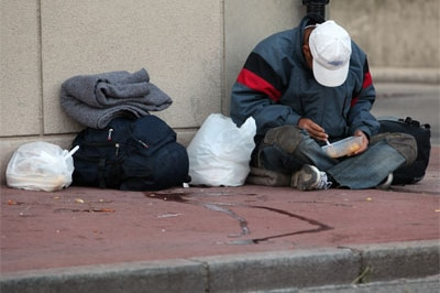 Some argue a Bill of Rights will offer greater protection to vulnerable Australians including those who are homeless