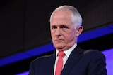 Malcolm Turnbull frowning