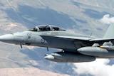 Super Hornet over Iraq