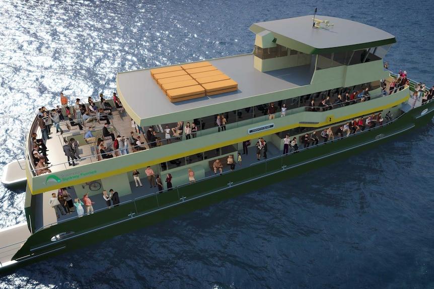 Incat Sydney ferry