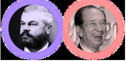 George Adams and Stanley Ho