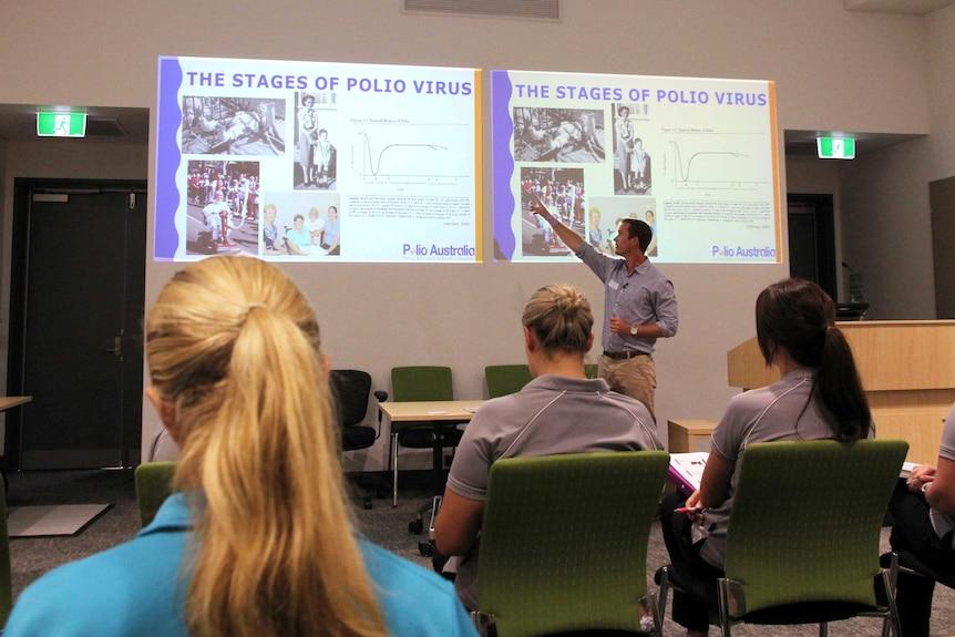 Polio Australia is running the post-polio workshops.