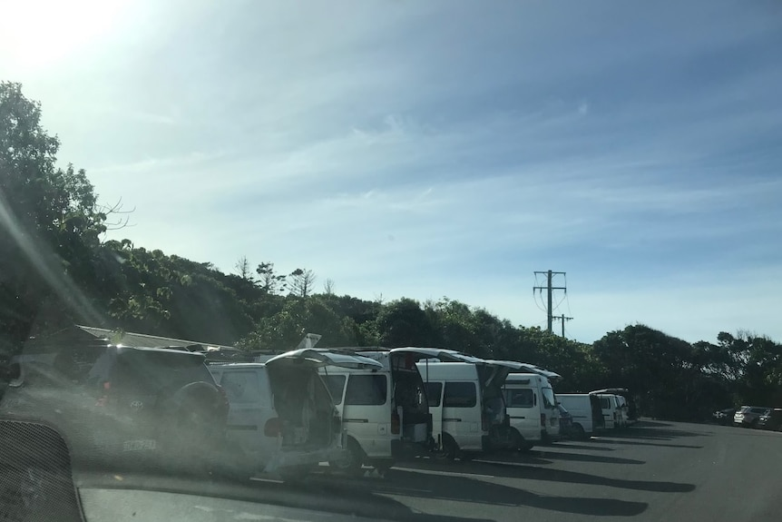 Drover believes self-contained carparks that record car registrations could deter illegal campers.