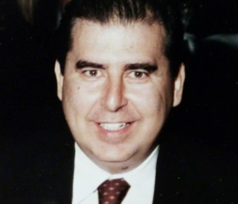 An archive image of Christos Saristavros