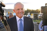 Mr Turnbull says the election will be fought on economic policies.