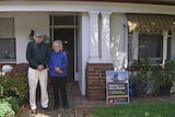Nadege Morel and Davis Michaud are one of 88 home owners offered voluntary acquisition from the Victorian Government.