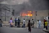 Violence rocks Nigerian city