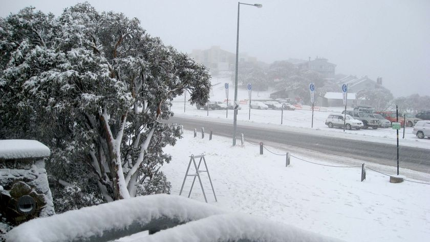 It is the heaviest August snowfall on the mountain since 2001.