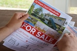 An advertisement for the house in a magazine