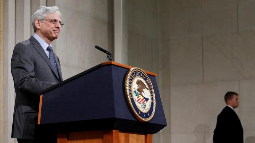US Attorney General Merrick Garland on congressional data