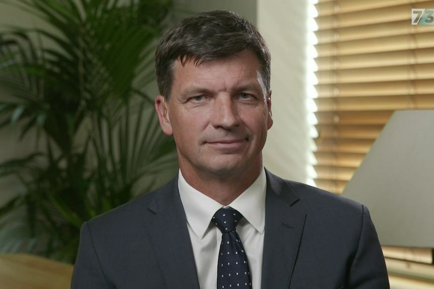 A head and shoulder shot of Angus Taylor.
