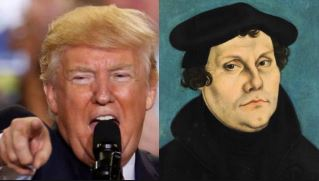 Donald Trump and Martin Luther
