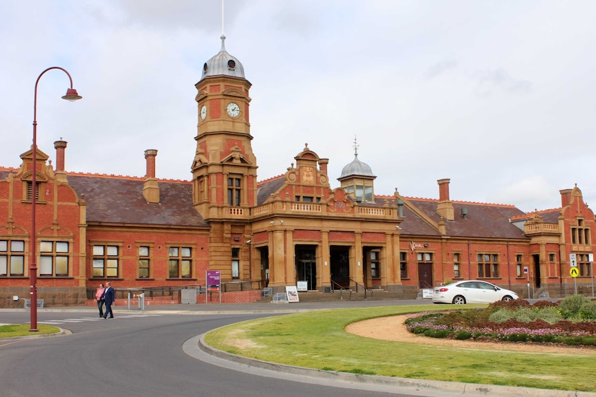 The Maryborough Railway Station, built in 1890.