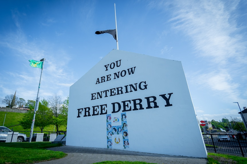 The Free Derry mural.