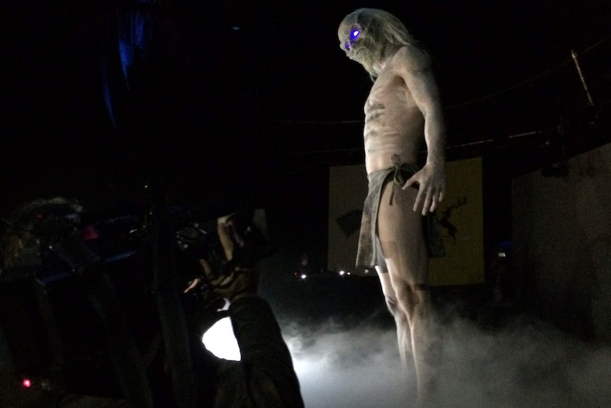 A Whitewalker at Rave of Thrones