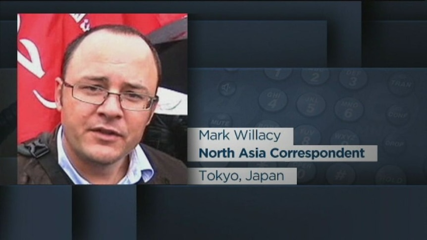 Mark Willacy reports from Tokyo