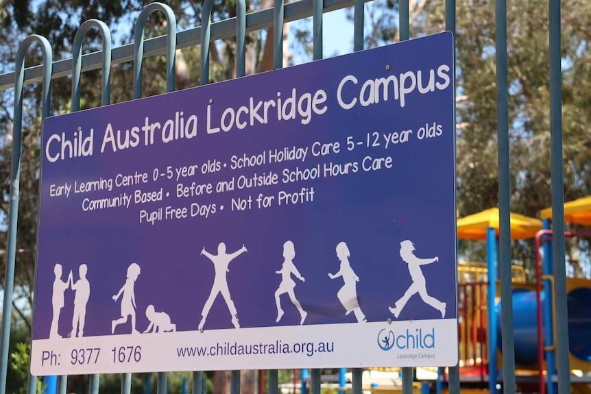 The sign outside Lockridge centre.