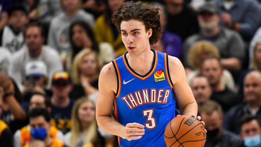 Giddey impresses in NBA debut for Thunder but Jazz win