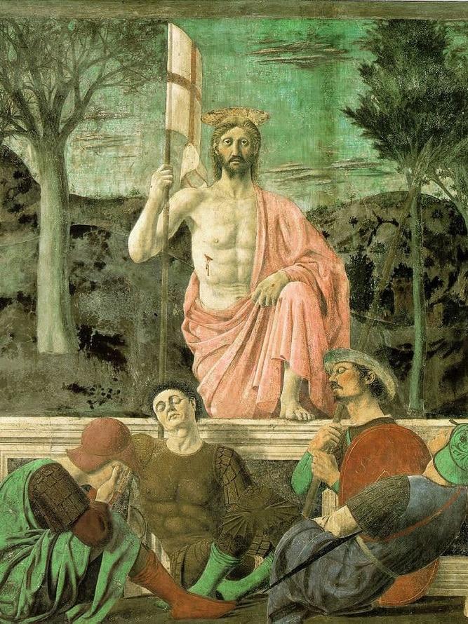 Piero della Francesca's Resurrection painting