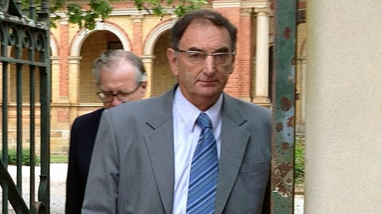 William Peter Standen outside court.