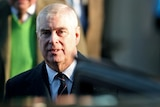Britain's Prince Andrew looks towards the camera during a royal trip to Norfolk in January 2020.