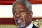 Former UN secretary-general Kofi Annan.