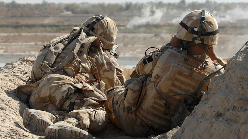 British snipers in Afghanistan