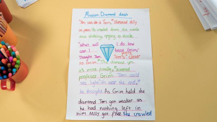 Children's writing