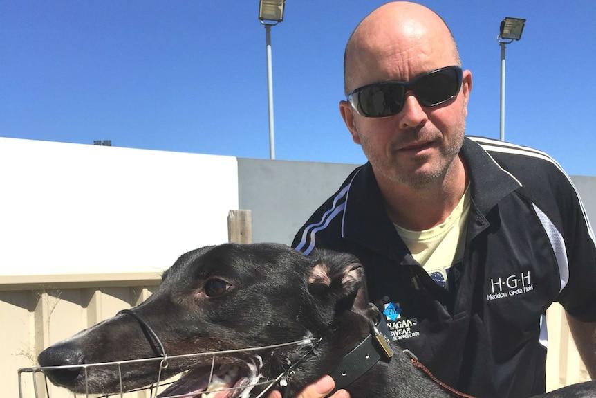 Greyhound trainer Jason Mackay