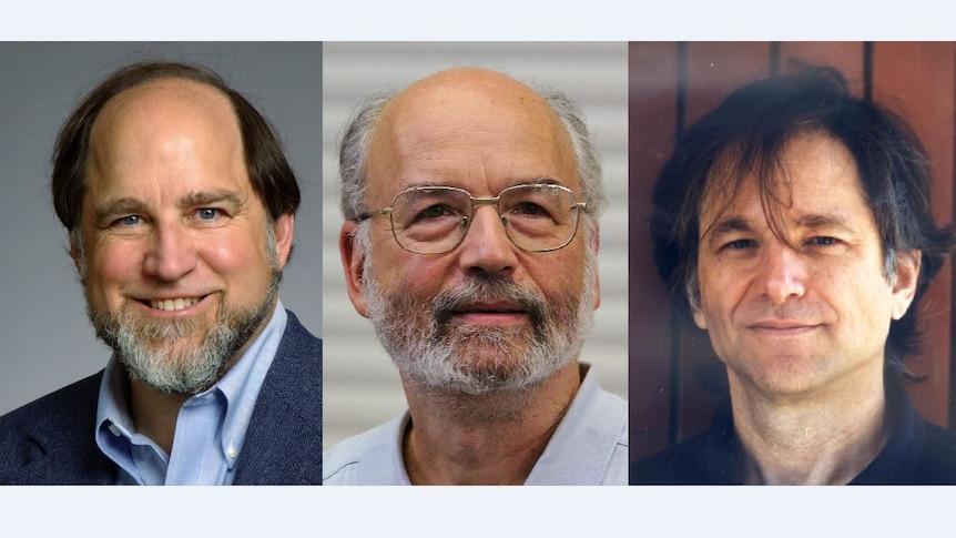 Ron Rivest, Adi Shamir and Leonard Adleman.