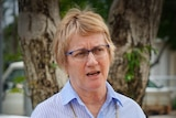 The NT Speaker Kezia Purick speaks at a press conference