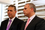 NT Treasurer Dave Tollner and Chief Minister Adam Giles