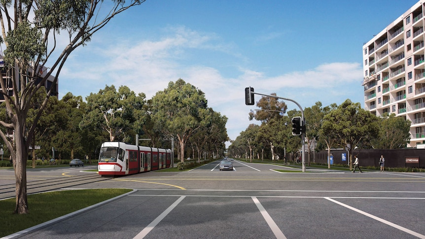 A new study will look into how light rail will link into the existing public transport network.