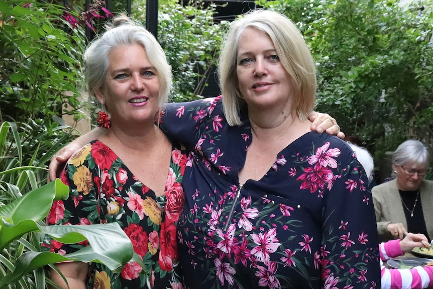 Ipswich cafe owners Elle Morar (L) and Candy Gazdagh