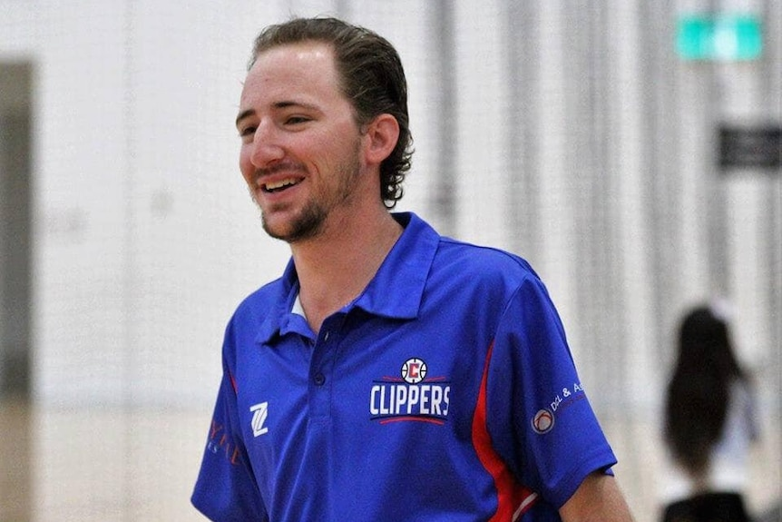 A photo of Chris Dicker wearing a Coombabah Clippers shirt.