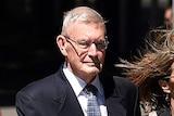 Queensland criminologist Paul Wilson (centre)