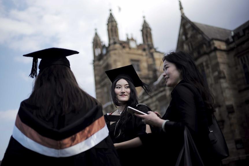 international students: Graduating