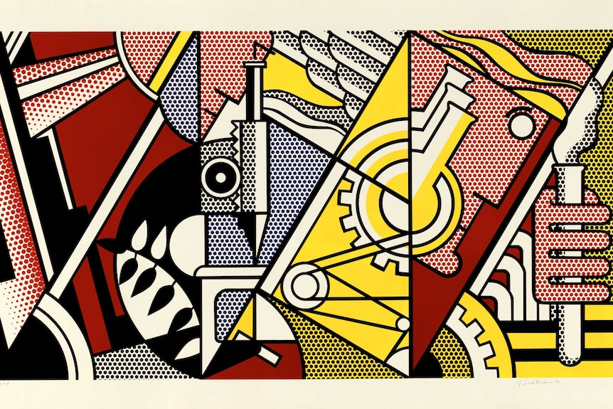 Peace through chemistry 1970 by Roy Lichtenstein.