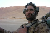 Special forces soldier Dave Farrell in Afghanistan.