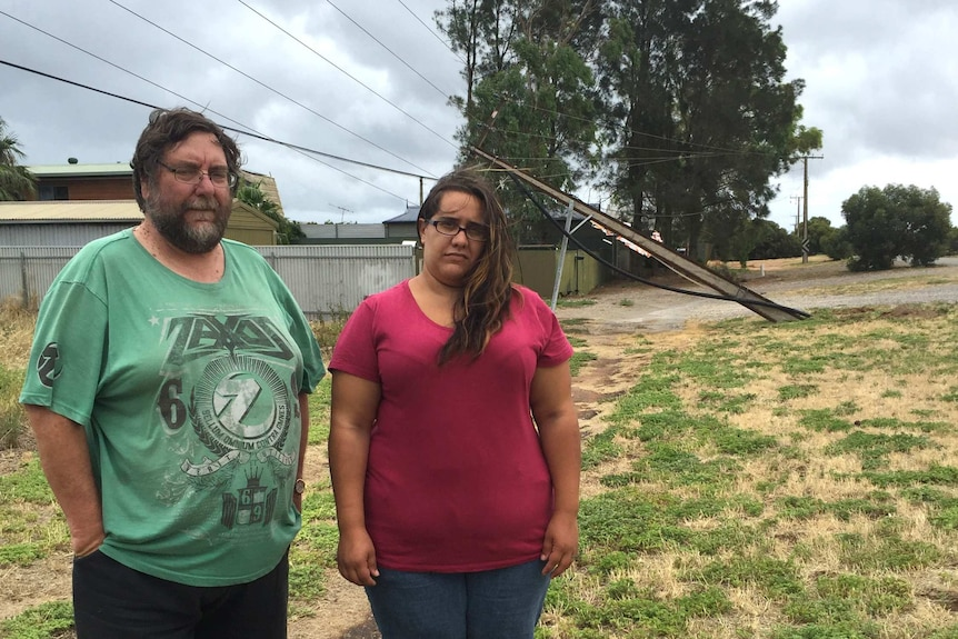 Power outage affects SA family
