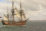 The original Endeavour could be at the bottom of the ocean near Newport.