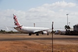 A Virgin Australia 737 diverted to Broome on route from Denpasar to Sydney