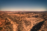 Dry outback