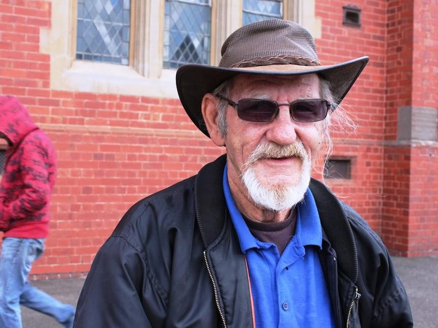Gordon Hill, abuse survivor